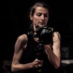 Claire Willemann, en action pendant les répétitions de Don Giovanni - photo © Klara Beck