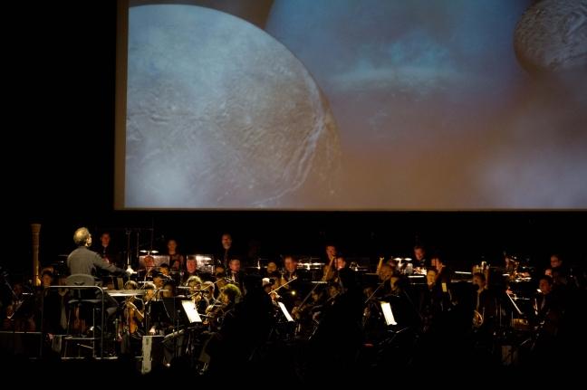 Les Planètes, Uranus, à l'Axone le 05 janvier 2018. © Chloé Stiefvater