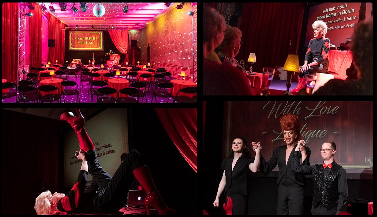 From Berlin With Love, Ludique!  Cabaret berlinois le s 28/02 et 01/03 2019 au réfectoire d'été des Dominicains de Haute-Alsace - Photos© Benoît Facchi